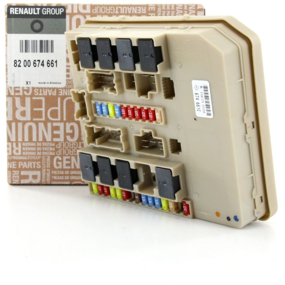 Renault Clio Iii Or Modus Fuse Box Relay Unit Module