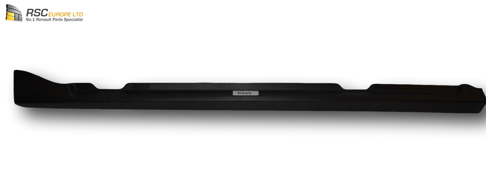 Renault Clio Iv Side Skirt Door Sill Carbon Affect 8201289561