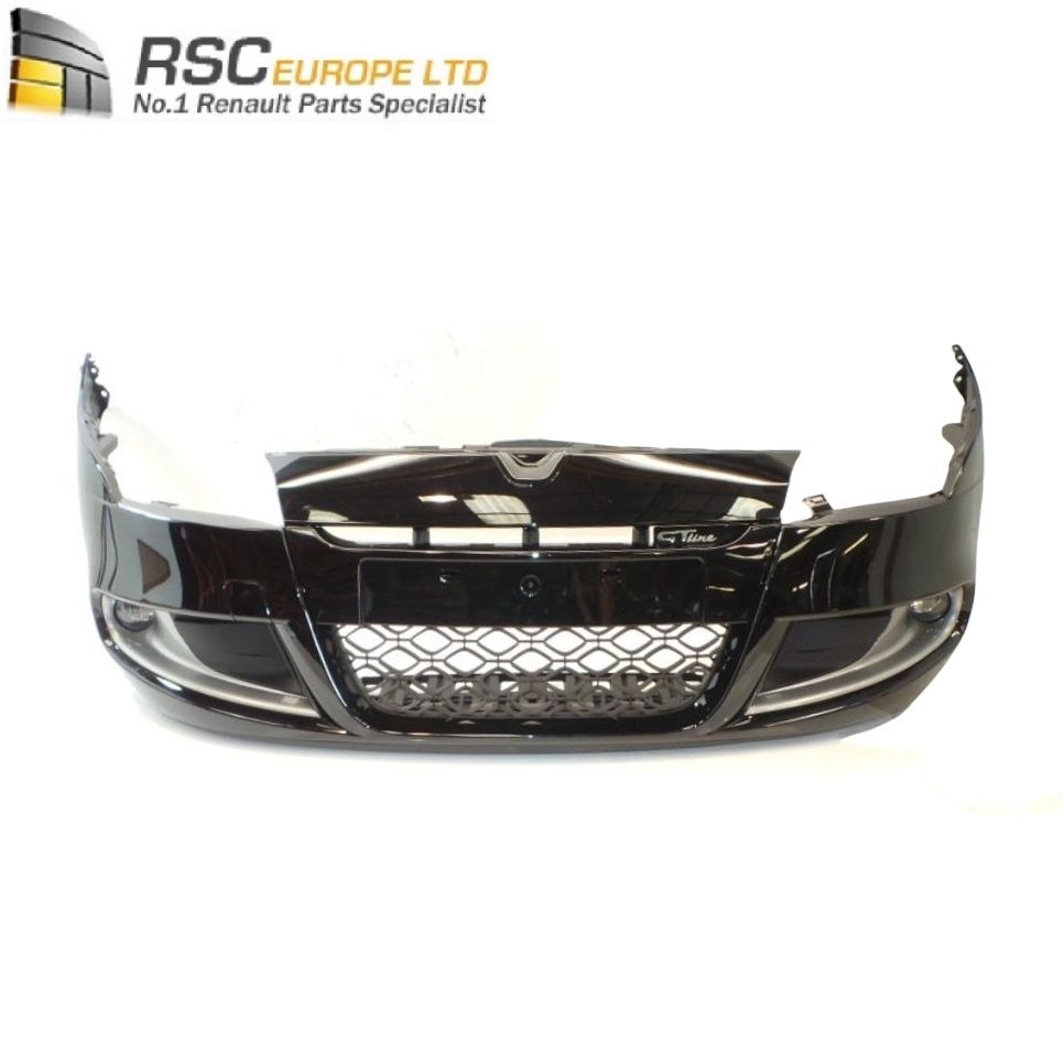 Renault Megane Iii Gt Line Front Bumper Silver With Fog