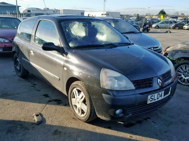 2004 RENAULT CLIO DYNAMIQUE 16V 1149 D4F 712 BREAKING SPARES REPAIRS PARTS BLACK