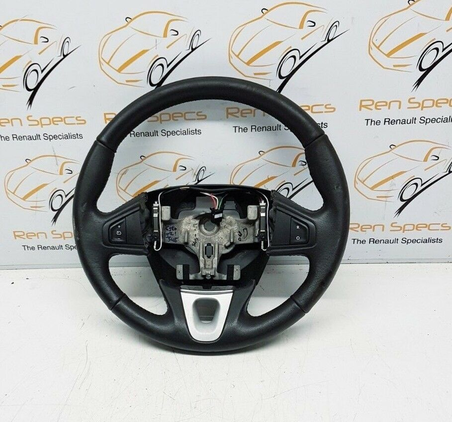 2009 RENAULT MEGANE MK3 MULTIFUNCTION STEERING WHEEL LEATHER 609581499