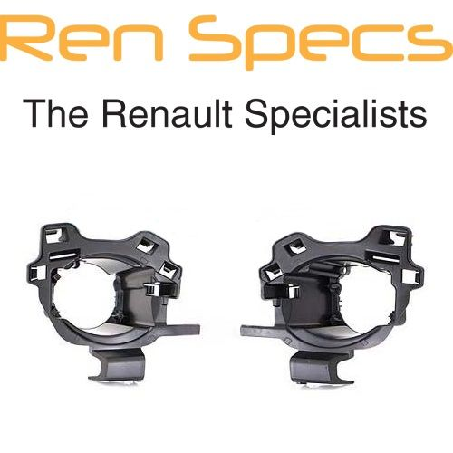 Brand New Renault Kadjar - Front Bumper Fog Lamp Brackets / Spot light support