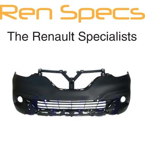 Brand New Renault Kadjar Front Bumper - No parking sensor holes - Primed