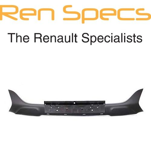 Brand New Renault Kadjar - Front Bumper Spoiler Centre Section - Matt Black