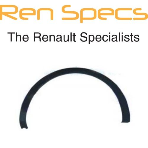 Brand New Renault Kadjar - Right Rear Wing Moulding Plastic wheel arch trim