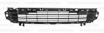 Citroen Berlingo Van 2015 - Front Bumper Grille Centre Section - No Sensor Holes