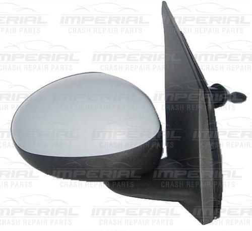 Citroen C1 O/S Manual Door Mirror In Primer - Right Side UK Drivers - 2012 -14