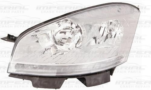 Citroen C4 Picasso 11 - 13 N/S Halogen Headlamp Headlight   Left Passenger Side