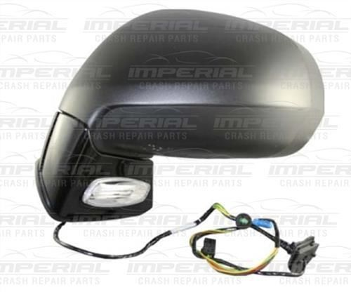 Citroen C4 Picasso 11 - 13 N/S Passenger Electric Heated Door Mirror Left Primer