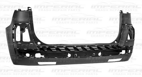 Citroen C4 Picasso Not Grand 2011 - 2013 Rear Bumper Bare