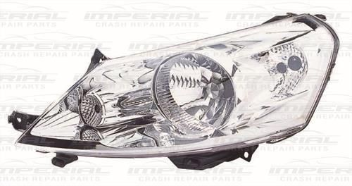 Citroen Dispatch N/S Front Headlamp Headlight -Left UK Passenger Side 07-08