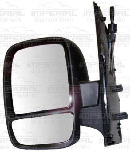 Citroen Dispatch N/S Manual Type Door Mirror Double Glass Left Passenger  07-16