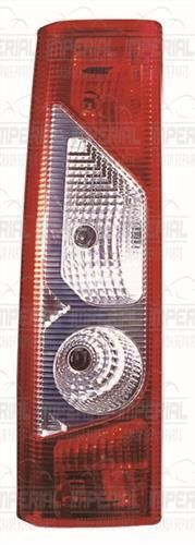 Citroen Dispatch N/S Rear Tail Light Lamp (Twin Door) 12-16 Left UK Passenger