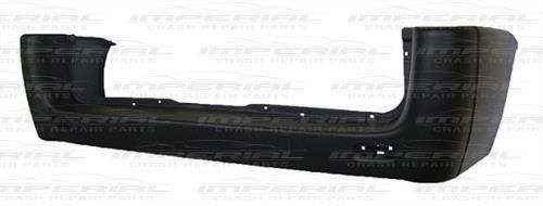 Citroen Dispatch Rear Bumper No Sensor Holes Black (Long Wheel Base) 07 - 16