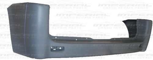 Citroen Dispatch Rear Bumper No Sensor Holes - Primed Standard Wheel Base Models
