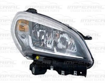Fiat Doblo 2015 - Headlamp Halogen Type Off Side