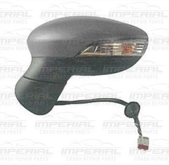 Ford Fiesta 3 door MK7 2013-2017 Door Mirror Electric Heated Power Fold Type With Primed Cover N/S