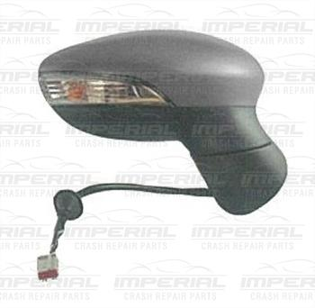 Ford Fiesta 3 door MK7 2013-2017 Door Mirror Electric Heated Power Fold Type With Primed Cover  O/S