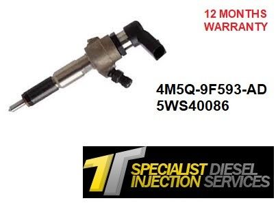 Ford Focus 1.8 TDCI Reconditioned Siemens Diesel Injector - 4M5Q-9F593-AD