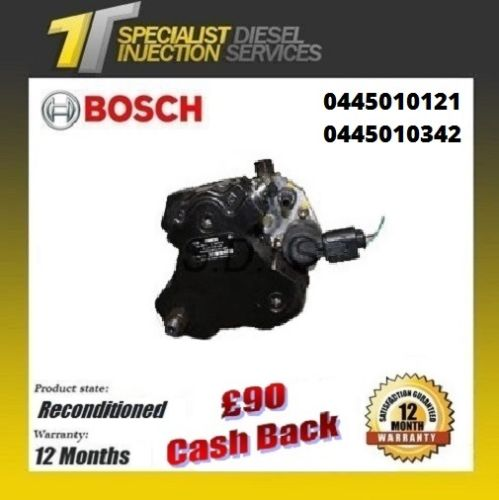Kia Cee'd 2.0 Reconditioned Bosch Diesel Pump 0445010121 0445010342 0986437354