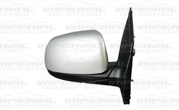 Kia Picanto 5dr Hatch 2011-2015 Door Mirror Manual Type With Primed Cover (No Repeater Lamp) O/S