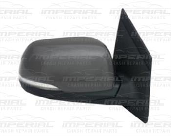 Kia Picanto 5dr Hatch 2015-2017 Door Mirror Electric Heated Power Fold Type With Primed Cover O/S