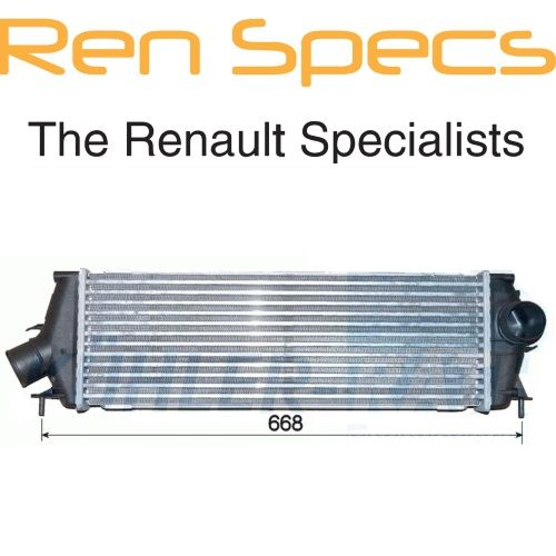 NEW GENUINE RENAULT TURBO INTERCOOLER - M9R 2.0DCI TRAFIC VIVARO PRIMASTAR