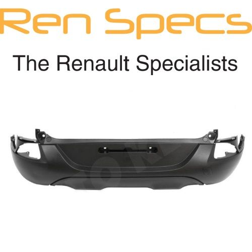 NEW Renault Kadjar Rear Bumper - No parking sensor holes No Spoiler Trim Holes