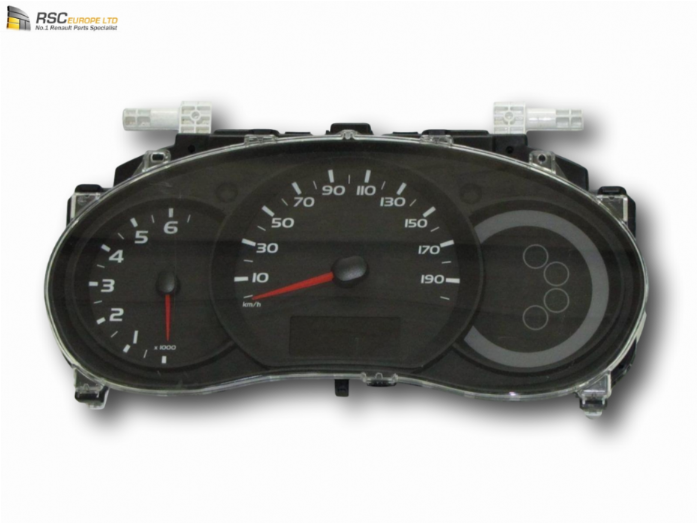 NEW RENAULT MASTER III INSTRUMENT CLOCK SET WITH DIGITAL READ OUT 248107584R