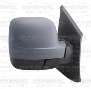 New Renault Trafic III Right Door Mirror Electric Heated Type With Black Cover RHD (2)