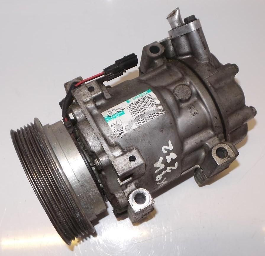 NISSAN QASHQAI Air Con Pump Compressor  (J10) 1.5 Diesel (Pipes On Side Of Pump)