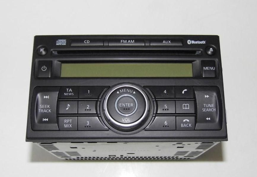 Nissan Qashqai Radio Used CD Player Stereo with Bluetooth 28185JD05A NO CODE