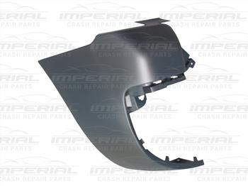 Peugeot Partner 2008 - 2012 Rear Bumper Outer Black Section (Standard WB Twin Door Models) Near Side