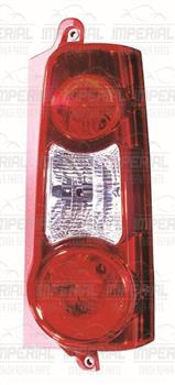 Peugeot Partner 2008 - 2012 Rear Lamp (Twin Door Type) Off Side