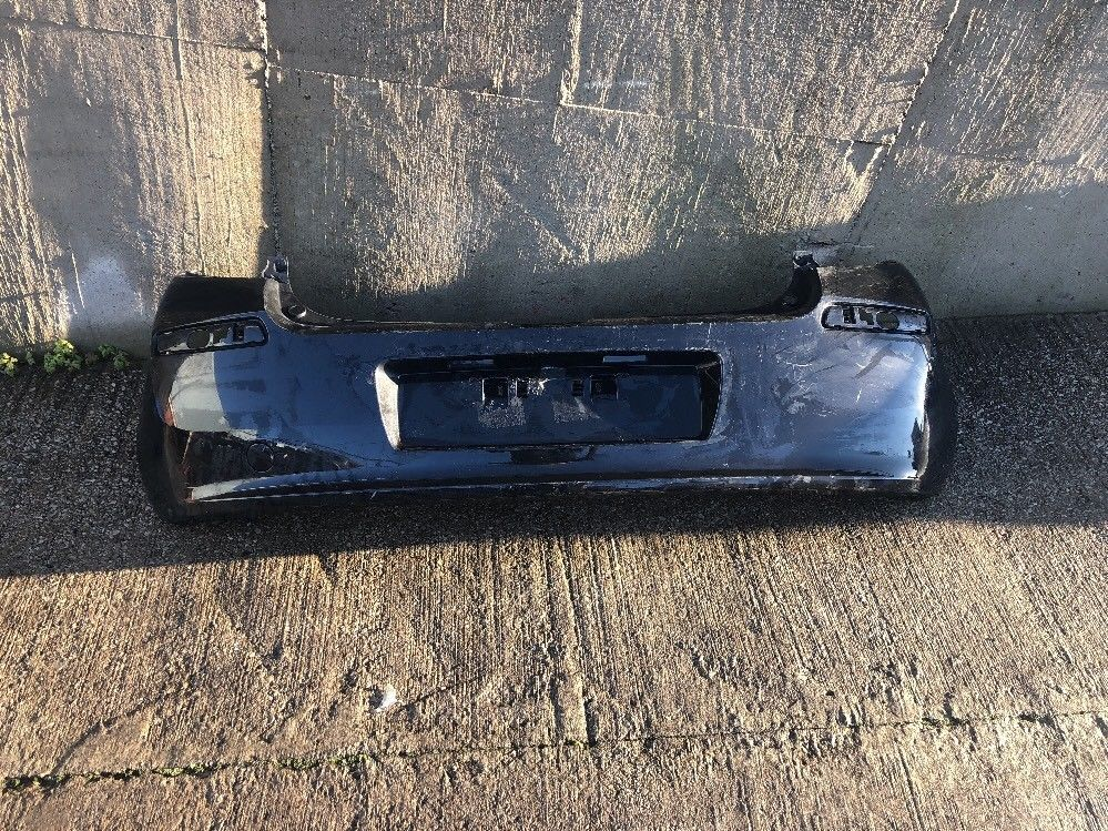 RENAULT CLIO HATCHBACK MK3, REAR BUMPER 8200402320 Black