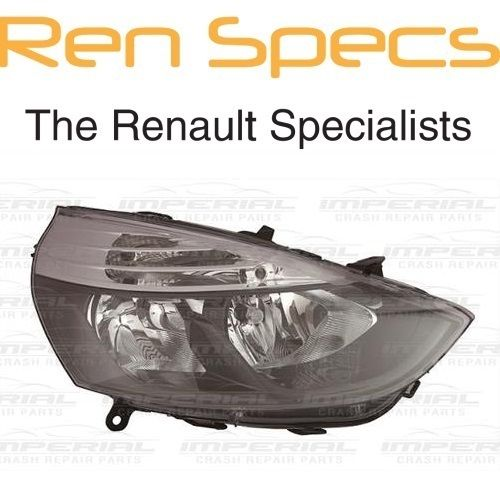 RENAULT CLIO IV - BRAND NEW FRONT RIGHT HEADLAMP - Offside Head Light No Chrome