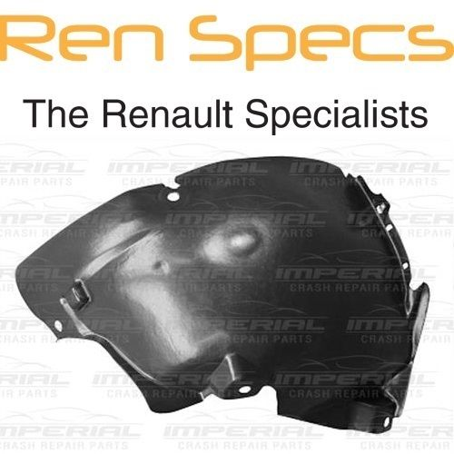 RENAULT CLIO IV - BRAND NEW LEFT FRONT WING SPLASH GUARD- Arch Liner Front half
