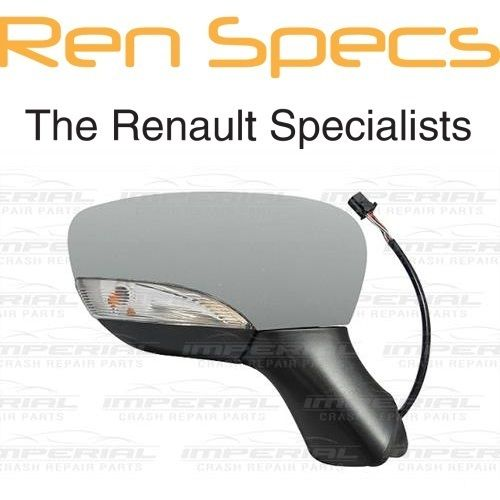 RENAULT CLIO IV - BRAND NEW RIGHT DOOR MIRROR Electric & Heated - Manual Fold