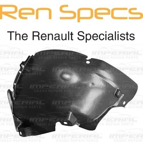 RENAULT CLIO IV - BRAND NEW RIGHT FRONT WING SPLASH GUARD- Arch Liner Front half