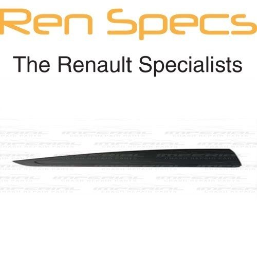 RENAULT CLIO IV - BRAND NEW RIGHT REAR DOOR MOULDING - No Holes - Black