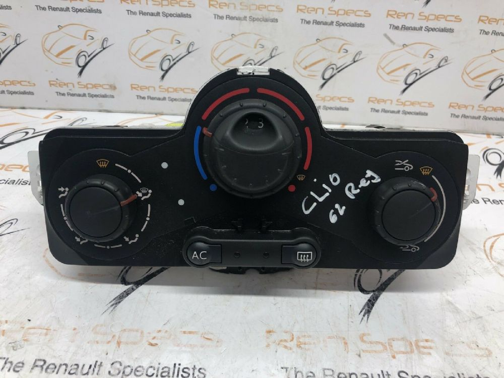 CLIO MK4 2013-2016 HEATER BLOWER SWITCHES DIALS HEATER BLOWER UNIT  CONTROLS