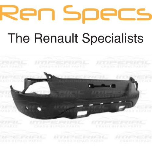 Renault Kadjar Rear Bumper - Parking sensor & Trim Spoiler Holes & Park Assist