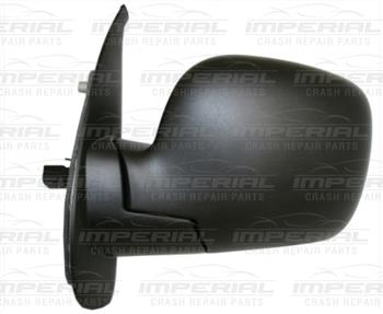Renault Kangoo 2009 - 2013 Door Mirror Electric Heated Type With Black Cover Near Side