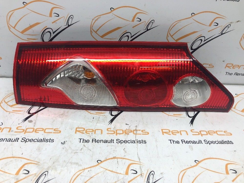 RENAULT KANGOO 2009 - 2013  OSR DRIVERS REAR LIGHT AND HOLDER 8200419945
