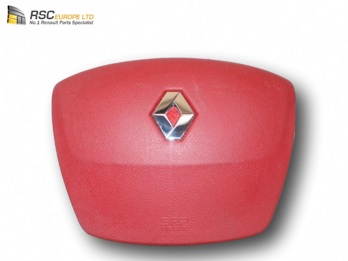 RENAULT MEGANE III CABRIOLET DRIVERS AIR BAG IN RED, SH FLORIDE 985101888R