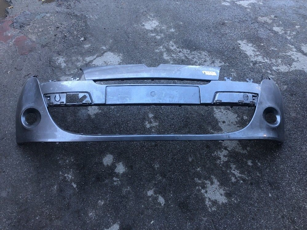 RENAULT MEGANE MK3 3 DOOR FRONT BUMPER 08 TO 12  GEN RENAULT PART GREY
