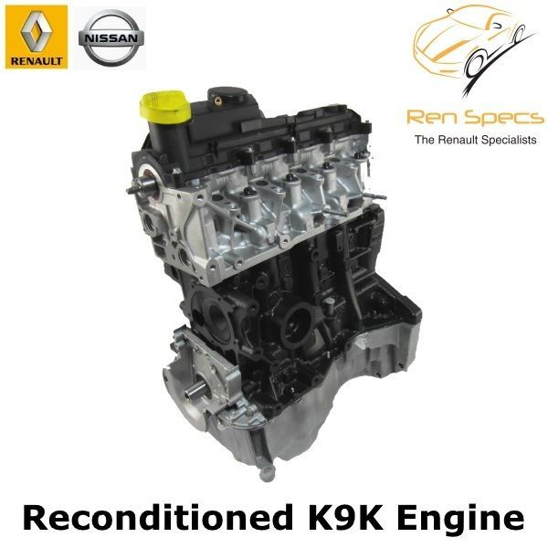 Renault / Nissan - K9K Reconditioned engine 1.5 dci cdti - Recon 608 / 609 / 628