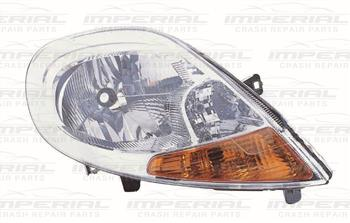 Renault Trafic 2007-2014 Headlamp With Amber Indicator Offside