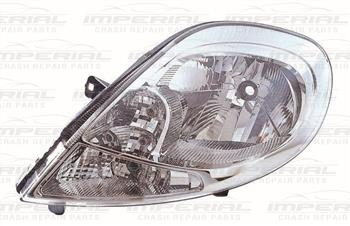 Renault Trafic 2007-2014 Headlamp With Clear Indicator Near Side