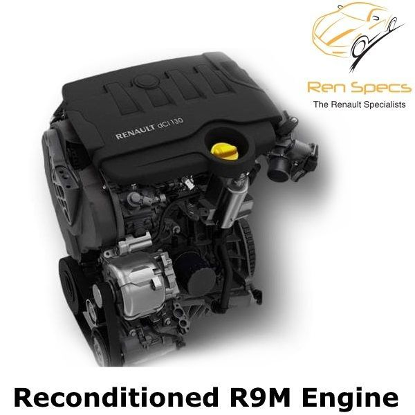 Renault / Vauxhall / Nissan / Fiat - R9M Reconditioned engine 1.6 dci cdti